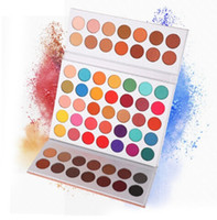 63Colors Eye Shadow Powder Makeup Palette Soft Smoky Nude Ey...
