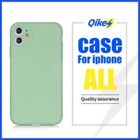 Nuova Liquid Silicone per iPhone 11 11 Pro 11 Pro Max cassa del telefono mobile anti-impronta digitale di protezione manica anticaduta Soft Shell
