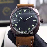 New 00448 448 PVD Steel Black Dial P3000 Mechanical Hand- Win...