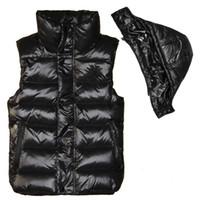 Neue Designer-Marke Männer und Frauen Winter Daunenweste Klassische Feder weskit Jacken Damen sportlich Westen Mantel Oberbekleidung plus Größe: XS-XXXXL