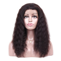 360 Lace Frontal Wig Curly Lace Front Human Hair Wigs Natura...