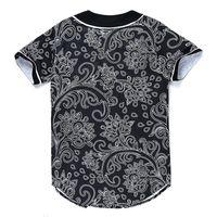 Moda 3D Erkekler Beyzbol Gömlek Spor Jersey Kaliteli Online Düğmesi Ile 39