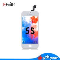 Schermo touch EFaith LCD digitalizzatore Assemblea completa di iPhone 5S riparazione del telefono Parti di ricambio di trasporto