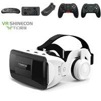 Derniers lunettes VR VR Goggles Virual Verres Shinecon VR Casque de casque pour smartphone