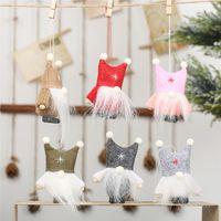 Рождественский кулон Шведский Санта-Клаус Томте гном плюшевые куклы ручной работы коллекционные куклы Рождественские украшения для дома