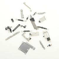 مجموعة كاملة صفائح الحديد قوس الدرع الإسكان أجزاء لوحة معدنية صغيرة لاستبدال اي فون 8 7 6S 6 زائد 5 5C 5S