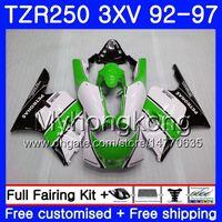 Kit para YAMAHA TZR250RR RS TZR250 92 93 94 95 96 97 verde blanco caliente 245HM.43 TZR 250 3XV YPVS TZR 250 1992 1993 1994 1995 1996 1997 Carenado