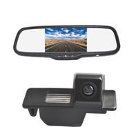 Caméra de stationnement pour voiture de stationnement avec vue arrière Vardsafe + Moniteur rétroviseur à clipser pour Buick LaCrosse Excelle GT GL8