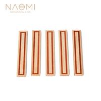 NAOMI 5 PCS 클래식 기타 브리지 타이 블레이즈 인레이 우드 프레임 시리즈 우드 기타 부품 액세서리 NA - 06