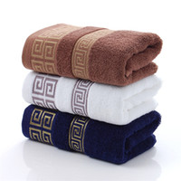 Factory direct cotton 32 shares 110g jacquard towel gift mer...