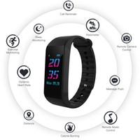 W6S الذكية اسوارة ضغط الدم رصد معدل ضربات القلب المقتفي ساعة اليد الذكية بلوتوث ووتش للماء ل ios الروبوت الهاتف ووتش