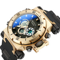 2019 Sport Men Watch Multi- Functional Quartz Electronic Digi...