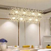 Современные G9 LED люстры акриловые огни подвесной светильник для столовой гостиной кухня lampadario Moderno Luster висит освещения