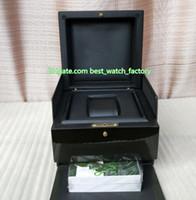 Venta caliente de calidad superior verde AP Royal Oak Offshore Caja de reloj original Papeles cajas de madera bolso Para CAL.3120 15400 15710 3126 7750 Relojes
