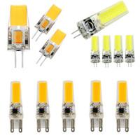 LED G4 G9 Lampad Lampadina AC / DC Dimming 12V 220V 2W 3W 4W 5W COB SMD LED Lighting Lights Sostituire la lampadario del riflettore alogeno