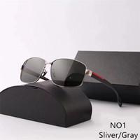 Goggle Occhiali da sole adumbral Polorized Uomo Donna Occhiali da sole UV400 5 colori di alta qualità con la scatola