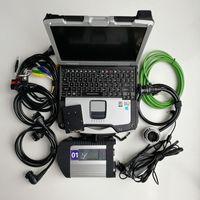 Инструмент V03.2021 Soft-Ware MB Star C4 SSD с Toolbook CF 30 Работа для SD Connect Compact 4 Диагностика Win 7 / XP