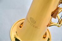 الآلات الطلاب JUPITER JPS-547 GL B (B) اللحن سوبرانو مستقيم أنبوب الساكسفون النحاس الذهب الطلاء جودة العلامة التجارية الموسيقية ساكس مع حالة