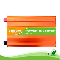 3KW / 3000W 12/24 / 48V a 100/110/120/220/230 / 240VAC 50 / 60Hz abitazione residenziale uso molto frequente onda sinusoidale pura inverter off grid