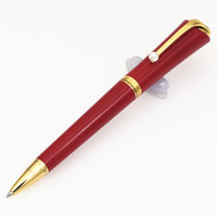 Neue Luxus-Kugelschreiber Marke Stift Limited Edition Muses Marilyn Monroe Unterschrift Klassische Designer Stift mit Perlen-Klipp-Geschenkfedern