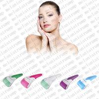 Ruota in acciaio inox Nuova pelle Fresco Rullo di ghiaccio Terapia a freddo Faccia Corpo del piede del piede Massaggio del derma facciale Kit per la cura della pelle Macchina