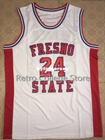 2590c18c5c54 New Arrival. Mens  24 Chris Herren Fresno State red white Basketball Jersey  all size Embroidery Stitched Customize any name and name XS-6XL vest Jerseys
