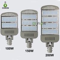 LED sokak lambası 85-265V 60W 90W 100W 150W 200W En kaliteli LED Chip MeanWell Güç Kaynağı LED Off Road Işık 5 yıl garanti