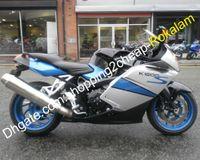 Para BMW Feeterias Partes K1200S K 1200S K1200S 2005 2006 2007 2008 05 06 07 08 Prata Azul Preto Motocicleta Aftermarket Kit