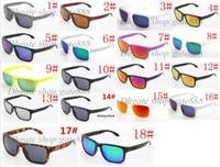 10 PCs marca nova moda masculina de bicicleta óculos de desporto ao ar livre óculos de sol do Google óculos cor da mistura de 18 cores!