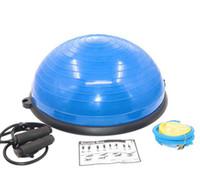 Yoga emisfero equilibrio palla speciale yoga Pilates dell'emisfero produttori dell'emisfero sfera velocità dell'onda di forma fisica Materiale PVC