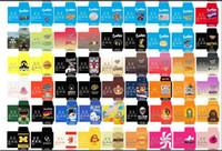 흩어져있는 종이 봉투 포장 상자 모듬 스트레인 슬림 헝겊 팩 왁스 집중 포장 상자 SD 카드 사용자 정의 동전 팩 무료 DHL
