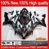 Body YAMAHA YZF 1000 noir mat YZF R 1 1000 CC YZF1000 1000CC 63HC.13 YZF R1 04-06 YZFR1 YZFR1 04 05 06 2004 2005 2006 Kit Carénage