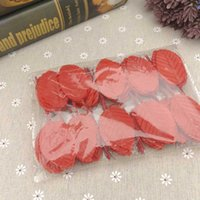 200pcs pack Artificial Leaf Silk Cloth Green Leaves DIY Home...