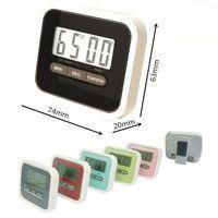 Кухонный таймер цифровой батарейный ЖК дисплей минута секунда обратный отсчет времени напоминание кулинария будильник морская доставка OOA7962