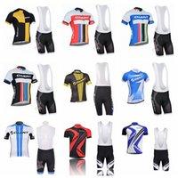 2019 equipo gigante ciclismo jersey conjunto hombres ropa de bicicleta camisa de manga corta camisa babero traje traje de alta calidad verano bicicleta deportes uniforme k071702