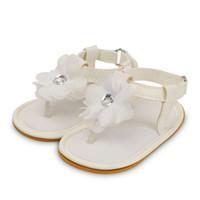 3 개 Piar 패션 아기 신발 0-1 세 꽃 소녀 샌들 플랫 석 편안 5 색