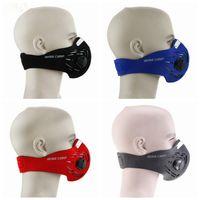 Anti-sis toz maskesi açık sürme bisiklet koruyucu maske kayak yarım yüz maskesi filtresi 4 renkler LJJZ490