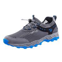أحذية زوجين SAGACE احذية الصيف الأسود التهوية تنفس الجوف شبكة تسلق عدم الانزلاق المنبع مضاد للانزلاق حذاء رياضة X0114