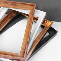 Пользовательские холст картина кадр DIY плавающая рамка для картины маслом / холст печатает рамка для украшения дома искусства 40x50cm SH190918
