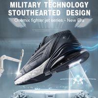 ONEMIX hombres zapatillas de deporte zapatos corrientes del amortiguador de absorción de golpes suaves zapatillas de correr al aire libre para los hombres zapatos del amortiguador de aire para caminar las mujeres