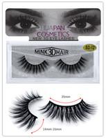 3D visón pestañas ojo maquillaje visón falso pestañas suave natural grueso pestañas falsas maquillaje maquillaje 3d ojo pestañas extensión herramientas de belleza