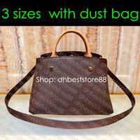 M41056 SAC MONTAIGNE GM MM BB progettista del modo delle donne Commuter Affari Tote Croce Corpo It Bag maniglia superiore della borsa OnTheGo
