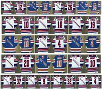 Vintage New York Rangers Jersey 10 Guy Lafleur 10 Pierre Larouche 19 Nick Kypreos 4 Ron Greschner 20 Jan Erixon 10 Ron Duguay CCM Hockey
