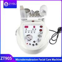 스킨 케어 5 in1 다이아몬드 미세 박리 열병합 치료 장비 Photon Skin Scrubber 초음파 얼굴 미용 기계