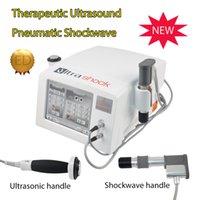 onde de choc de haute qualité matériel magnétique physiothérapie aultrasound d'impulsions machine à ultrasons pour le soulagement de la douleur avec 12pcs émetteur