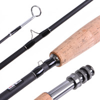 Rods LEO Fly Fishing Rod 9FT 2. 7M 4 Section Fishing Rod Line...