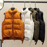 Kadın Yelek Mumuzi Marka Kış Ceket Rüzgar Geçirmez Sıcak Pamuk Yelek Casual Kolsuz İnce Femme Ceket Veste