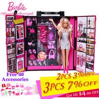 c6d2ead080729 Nouvelle Arrive. Original Barbie Marque Drôle Rêve Garde-Robe Vêtements  Accessoires Bébé Jouet Pour Petite Fille ...