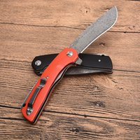 High Quality New 3 Handle Colors Damascus Flipper Folding Kn...