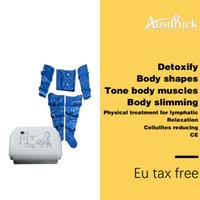 Nouvelle arrivée Pression de l'air Minceur Machine Pressothérapie réduction de la cellulite Muscles Massage Drainage lymphatique perte de poids Drainage du corps